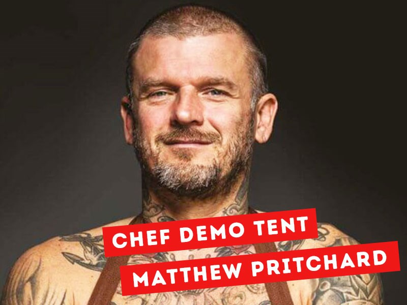 Dirty Vegan, Matthew Prichard joins The Surrey Food Festival